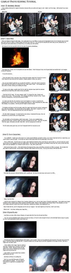 Cosplay PS Tutorial, p2: Adding Magic
