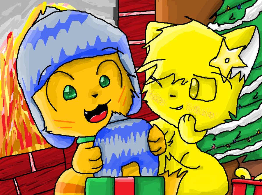 Merry Christmas Oliver by MissKittens