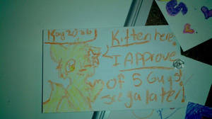 Kitten Ate At 5 Guys 8D by MissKittens