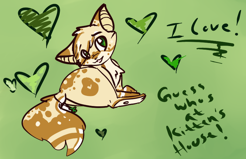 Guess Whos At Kittens House?~ by KittenthePsycho