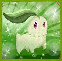 Pokemon Challenge: 03 Chikorita by MissKittens