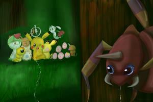 Pokemon Challenge: 06 Ariados by MissKittens