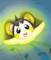 Pokemon Challenge: 07 Emolga by MissKittens
