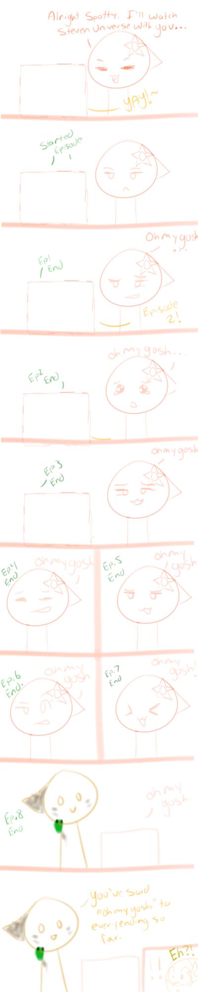 Oh My Gosh by KittenthePsycho