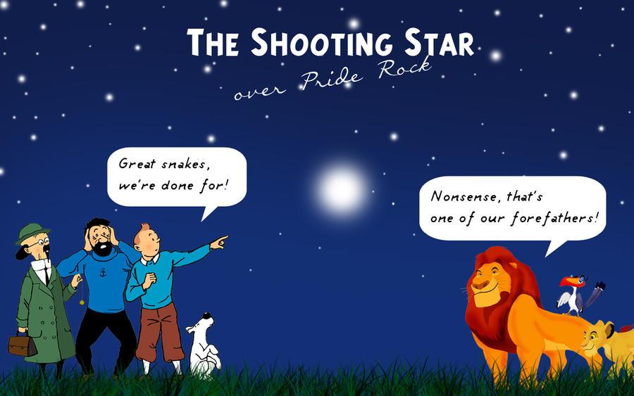 The Shooting Star by isuru077