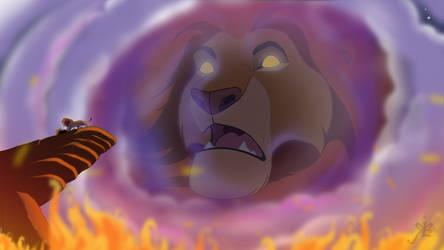 Don't Kill Him Simba! by isuru077