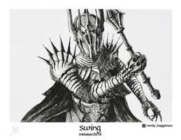 Sauron Himself Came Forth