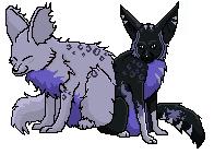 Mirwae Pixel adoptable Aramii by toboeslovingwolf