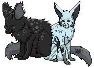 Mirwae pixel adoptable by toboeslovingwolf