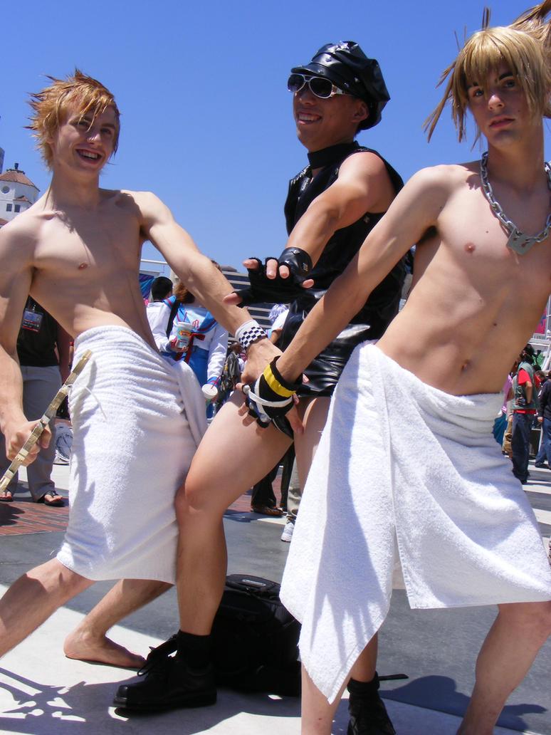 Sora, Roxas, and Hard Gay by angelfacade