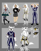 . : BNHA: Mizuki Wolf : . by Queen-Vampire96