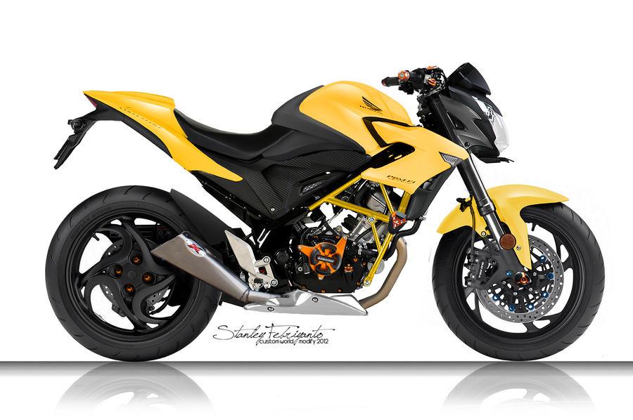 Honda CB150R - Streetfighter by stanley94 on DeviantArt