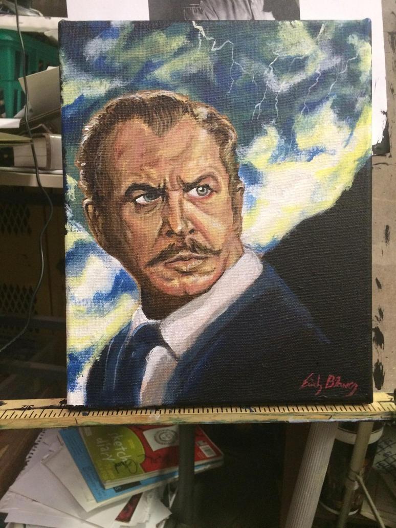 Vincent price  by erichallen