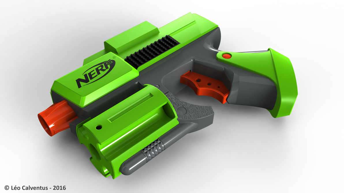 NERF Dart Tag Green Handgun by Jetstorm-477 ...