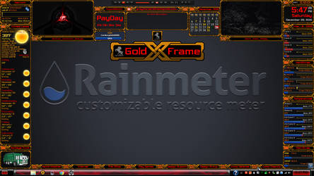 GoldXFrame - GrayhorseRetired by GrayhorseRetired
