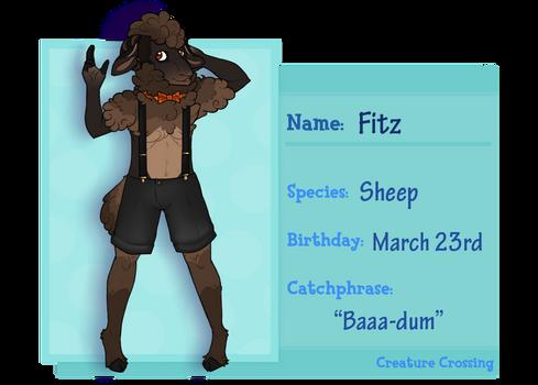 Creature Crossing-- Fitz