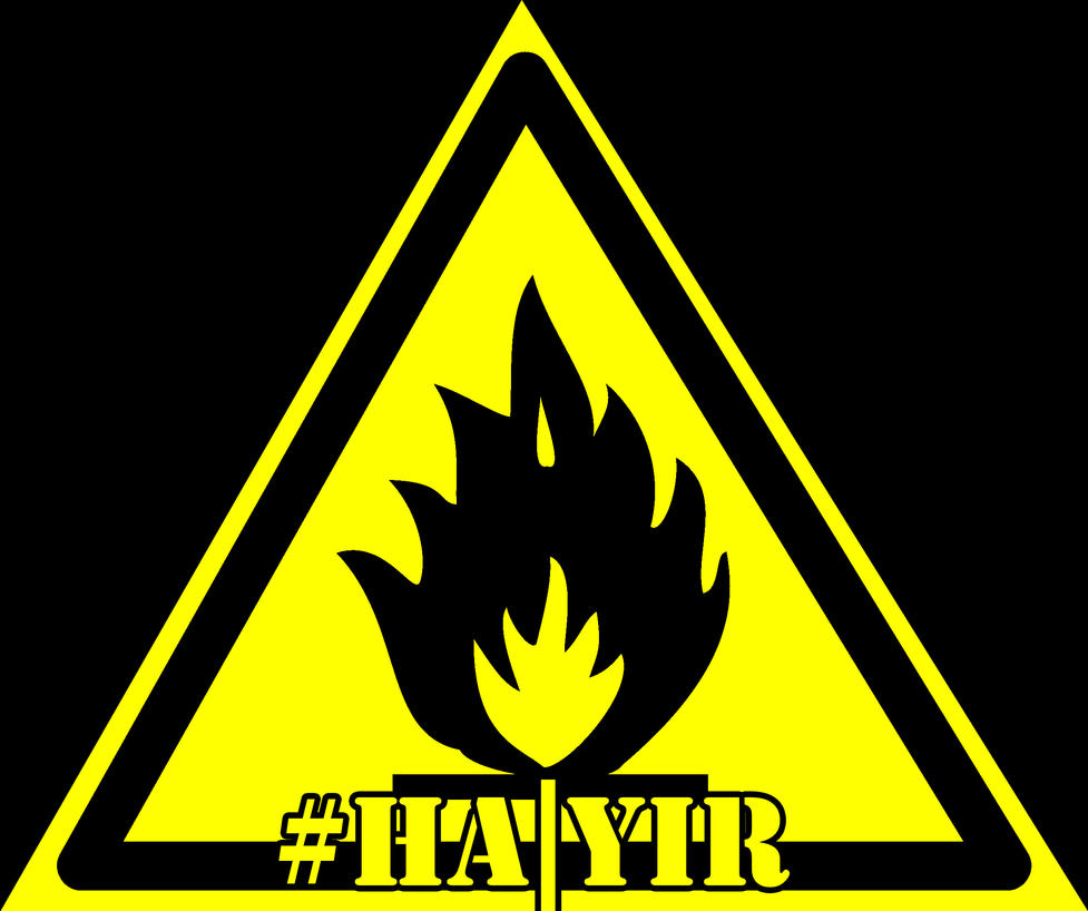 Vector Symbol Fire Hazard Flammable Substances Aba By Eros666 On