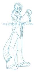 Loki Sketch by bluefreak