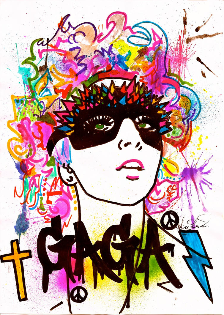 Gaga POP by ash-sheridan