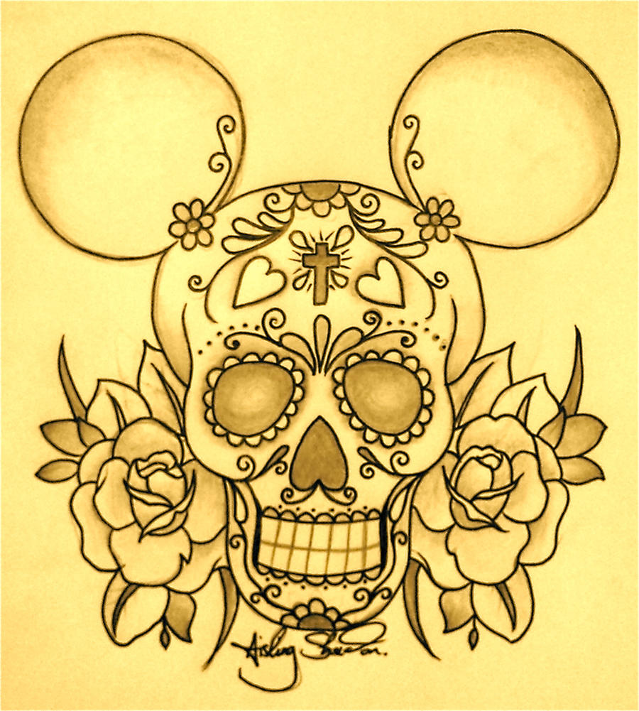 Sugar Skull by ashsheridan