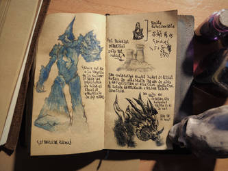 Constructs, Rituals and Demons (Diary 2-17) by Dr4wner