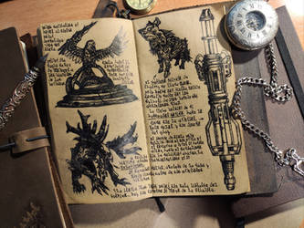 Santuaries, Boneskinners, Hounds... (Diary 2-18) by Dr4wner