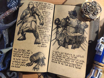 Jotun, Pinipals and Tents (Diary 2-19) by Dr4wner
