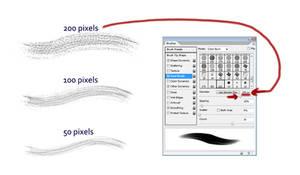 Dual brush setting screenshot