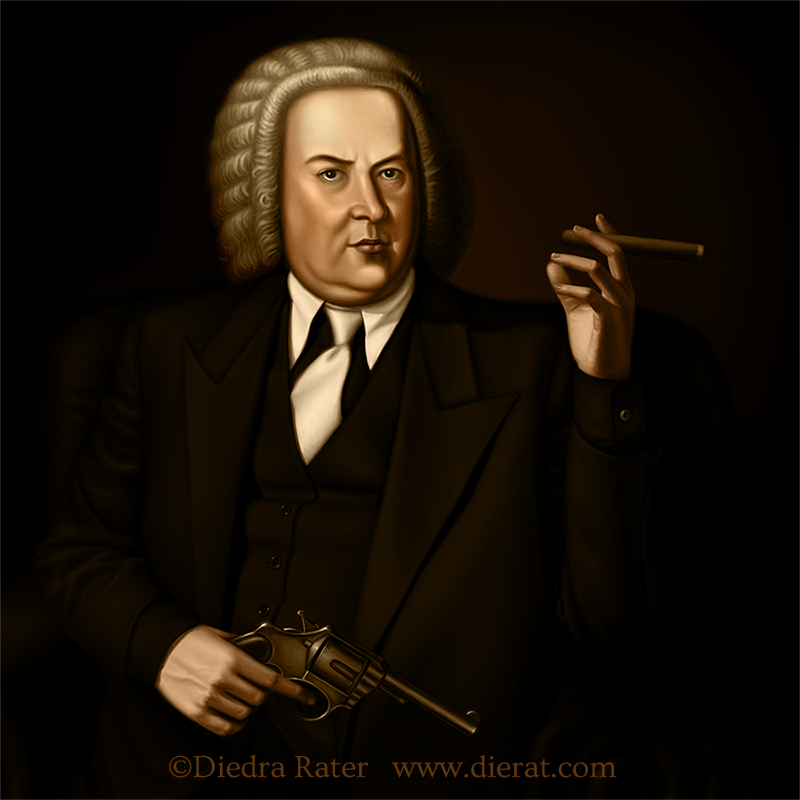 Mobster Bach by dierat