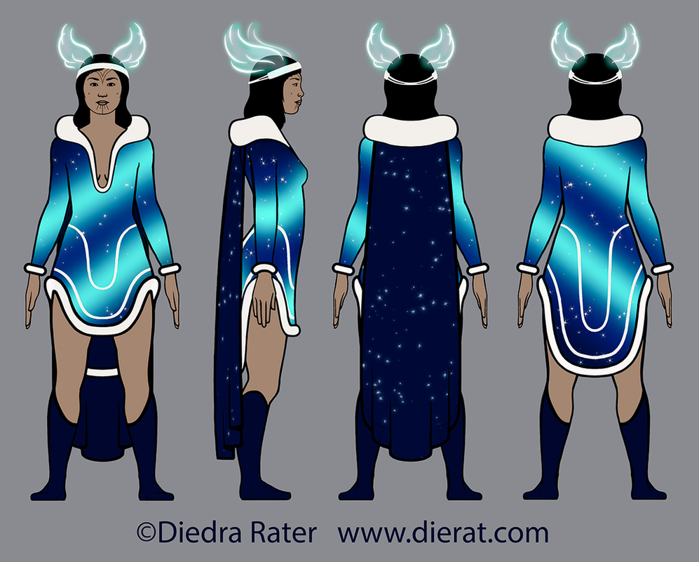 Nelvana redesign - final design by dierat