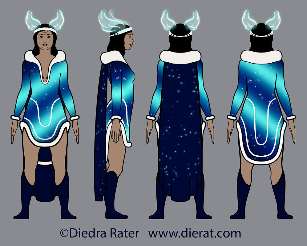 Nelvana redesign - final design by dierat