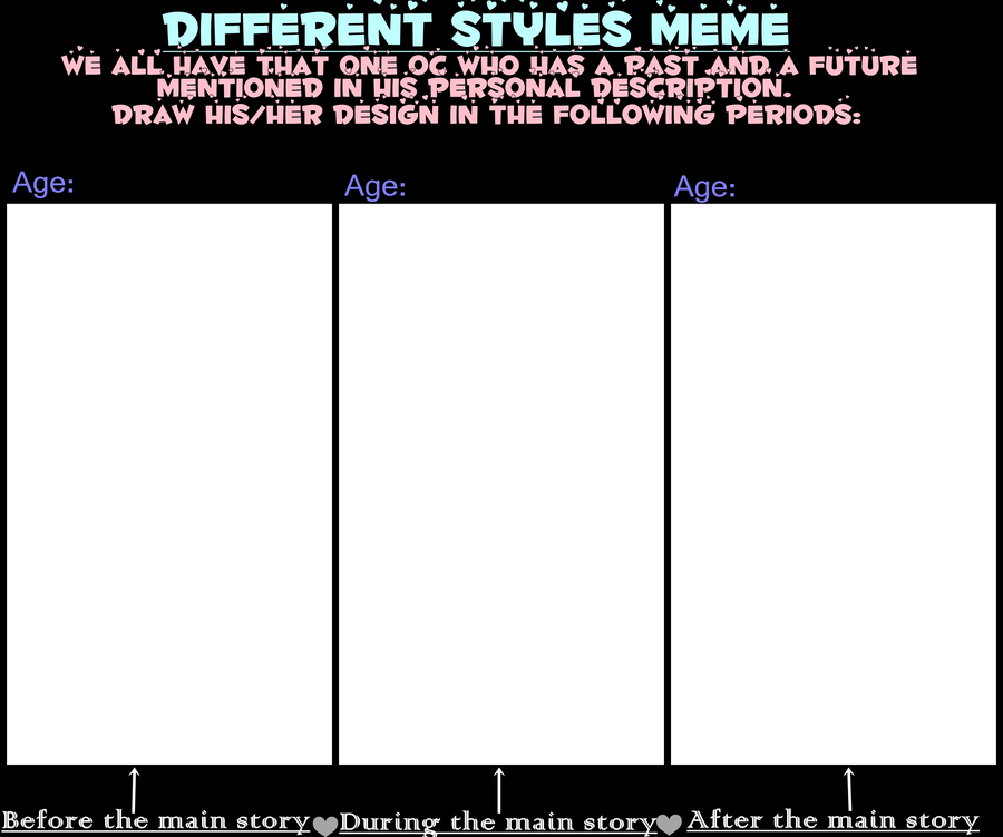 Different Style Meme by Mondschaum