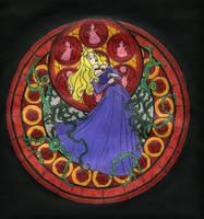 KH Stained Glass - Aurora by BastRulez