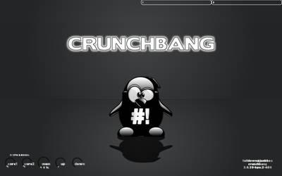 Crunchbang tux screenshot by falldown-aka-chris
