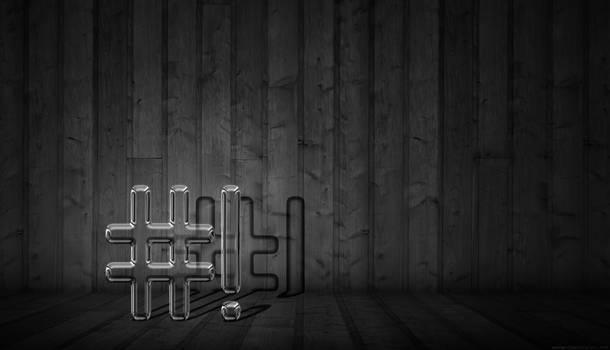 Dark CrunchBang Wallpaper by falldown-aka-chris