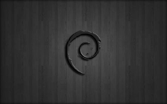 Carbon-Fiber Debian by falldown-aka-chris