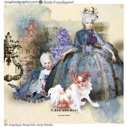 Malaka by Foxeysquirrel by Angeliques-Scraps
