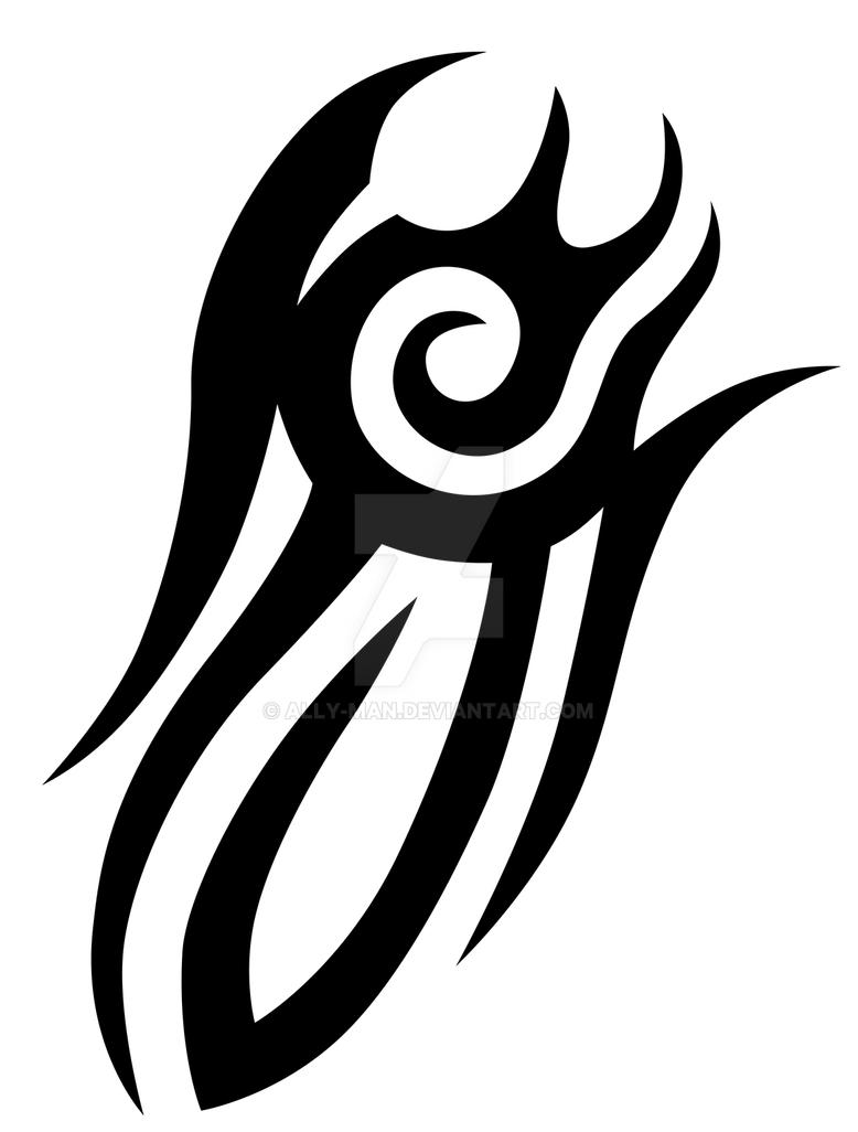 d0642541e Tribal design 001 tattoo art by Ally-man on DeviantArt
