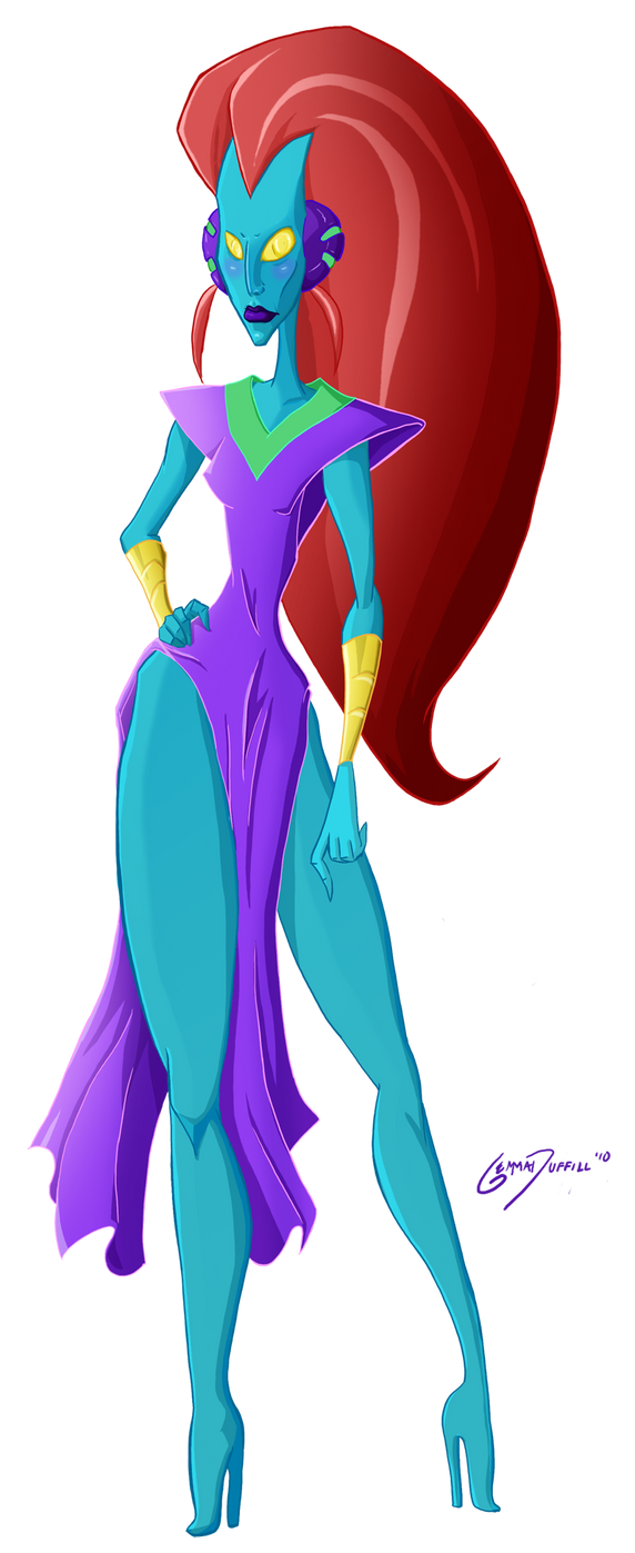 Alien Empress by GemmaDuffill