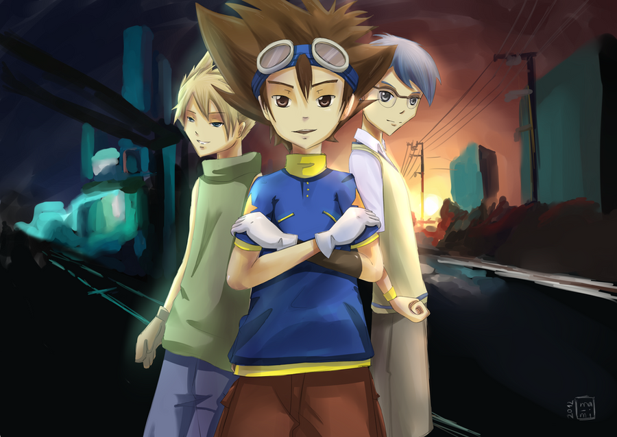 Digimon Adventures fan art by SugarCutie