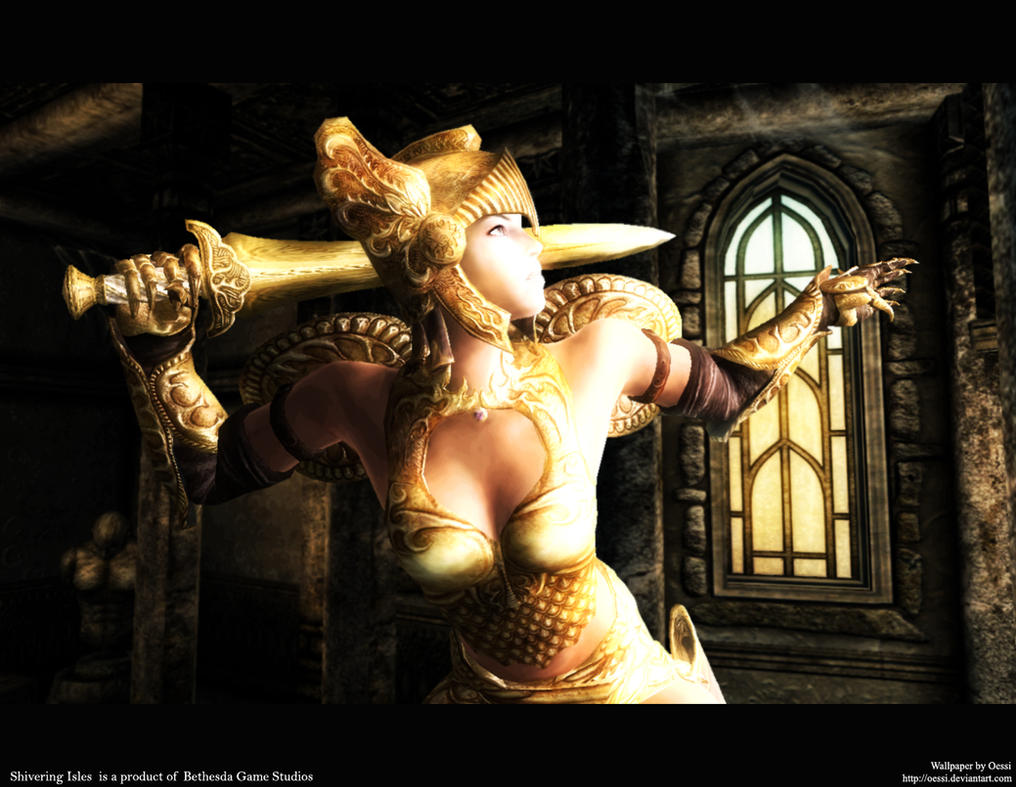 Oblivion golden saint nude mod adult picture