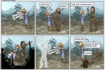 6-page Skyrim comics rus ver