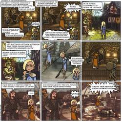 8-page Skyrim comics rus ver