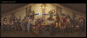 Ultima Cena by Oessi