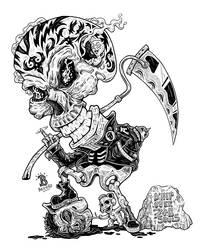 True Death God by djyerba