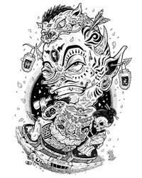 True Yakuza God by djyerba
