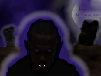 Jamie's Dark Ghost of Halloween by JamieShortz