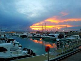 Marina Sunset... by MissSpocks