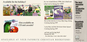 VeggieTales Christmas 1996 Ad (Fanmade)