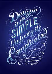 Design is so Simple by grafficjam